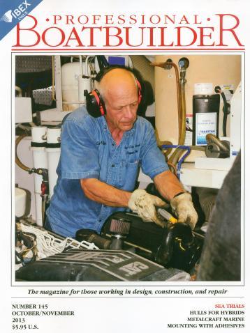Professional Boatbuilder Cover